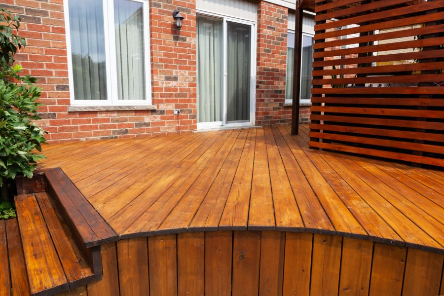 Deck Staining by First Choice Painting & Remodeling