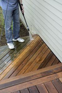 Oak Ridge North Pressure washing by First Choice Painting & Remodeling
