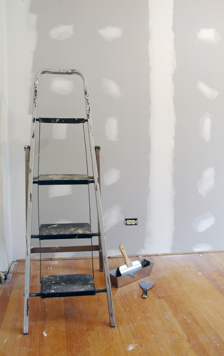 Drywall repair by First Choice Painting & Remodeling.