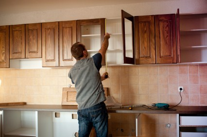 Cabinet refinishing in Kingwood TX