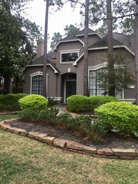 Before & After House Painting in The Woodlands, TX