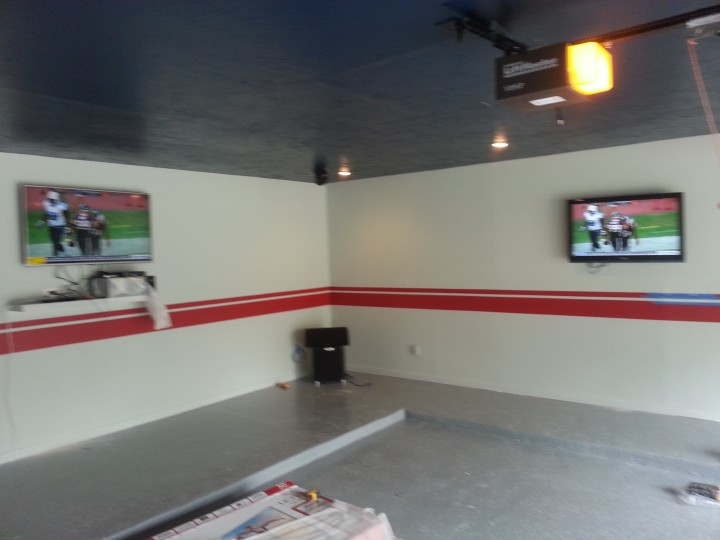 Before & After Garage Remodel - Install Sheetrock - Interior Painting & Garage Floor Epoxy