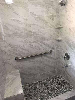 Bathtub to Walk in Shower Conversion in Houston, TX (4)