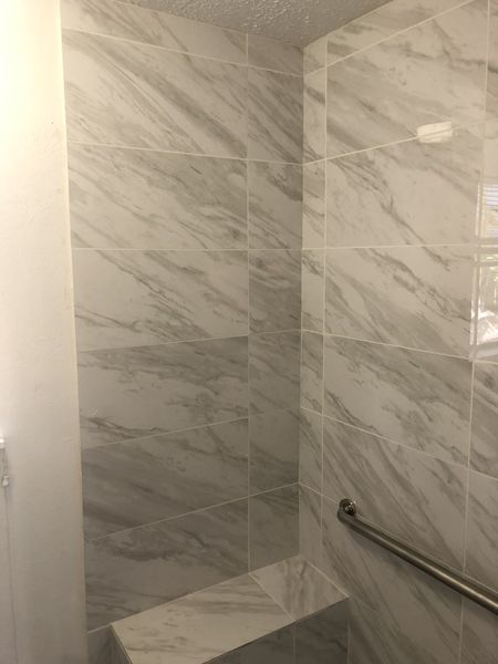 Bathtub to Walk in Shower Conversion in Houston, TX (5)