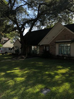 Before and After Exterior House Painting Spring Branch Houston, TX (1)